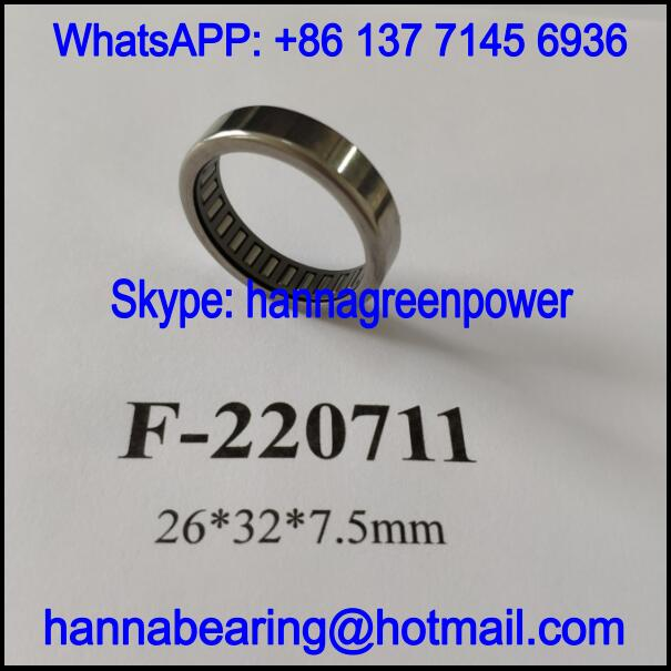 F-220711 Automobile Steering Bearing / Needle Roller Bearing 26x32x7.5mm