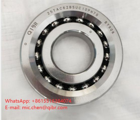 Angular contact ball bearings 25TAC62BSUC10PN7B(25x62x15)