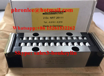 NRT 26111 Linear Bearing/Recirculating Units 40x111x25.85mm
