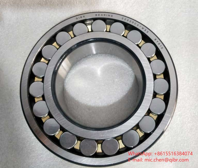 Spherical roller bearing (100*180*46mm) 22220CA/W33