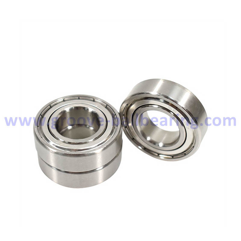 SS6202ZZ Stainless Steel Ball Bearing 15*35*11
