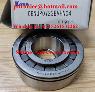 06NUP0723BVHC4 Cylindrical Roller Bearing 30x67x23mm