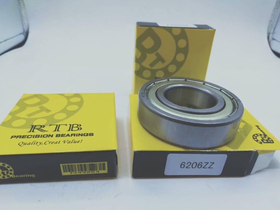6206ZZ deep groove ball bearing 30*62*16mm