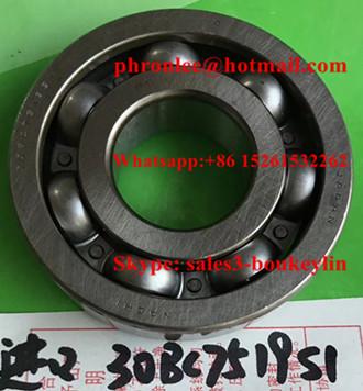 30BC7519S1 Deep Groove Ball Bearing 30x75x19mm