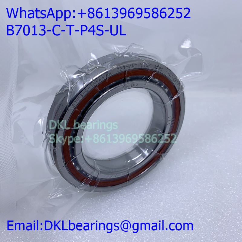 B7013-C-T-P4S-UL angular contact ball bearing 65*100*18mm