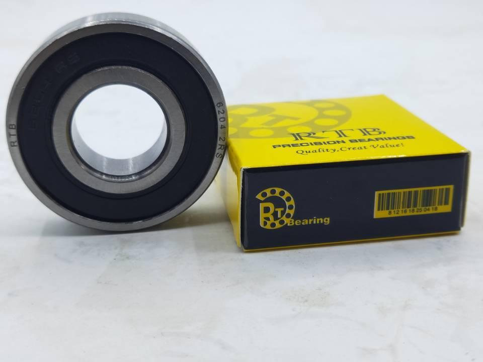 6204-2RS deep groove ball bearing 20*47*14mm bearing
