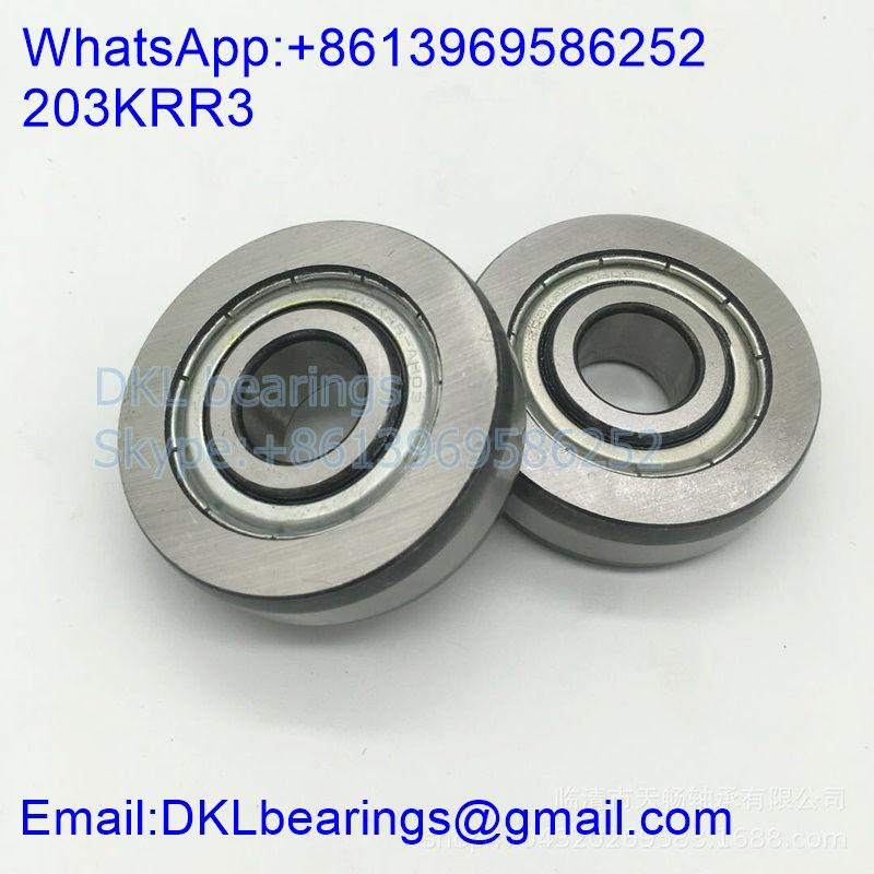 203KRR3 Deep Groove Ball Bearing size 15.951x50.8x15 mm