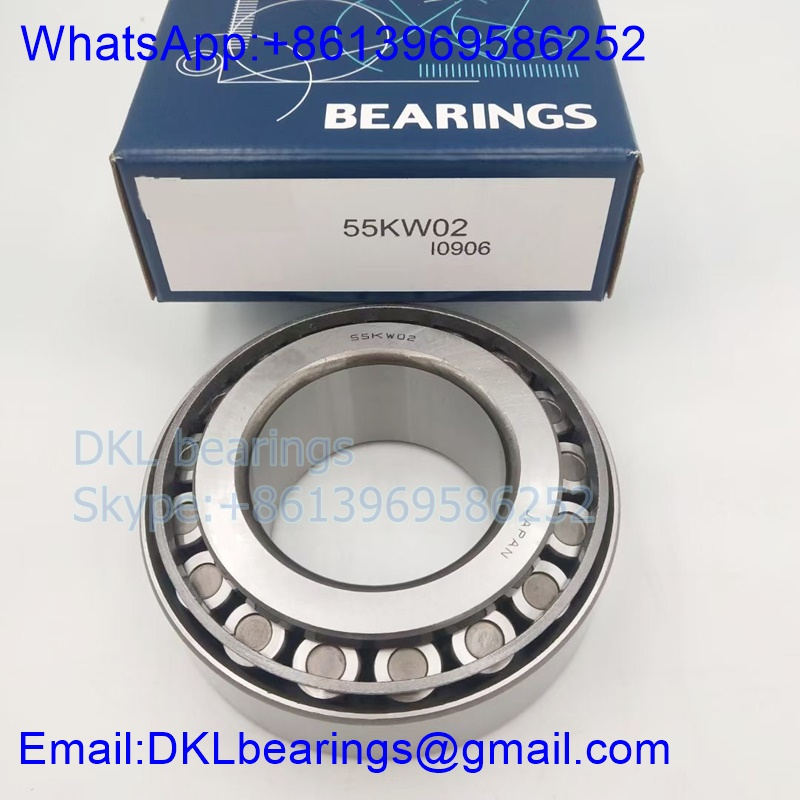 50KW02 Automobile Bearing 49.987x114.3x44.45 mm