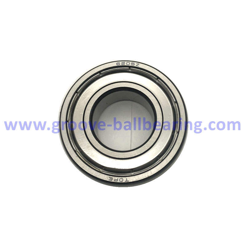 6205z Single Row Radial Ball Bearings 25x52x15mm