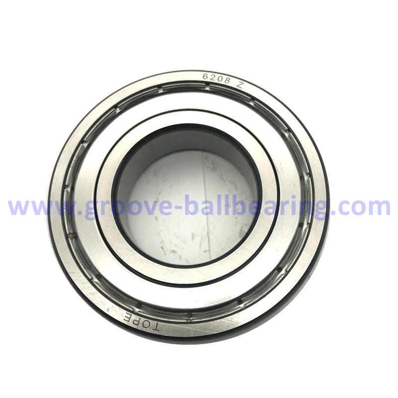 6208 Z Single Sealed Ball Bearings 40x80x18