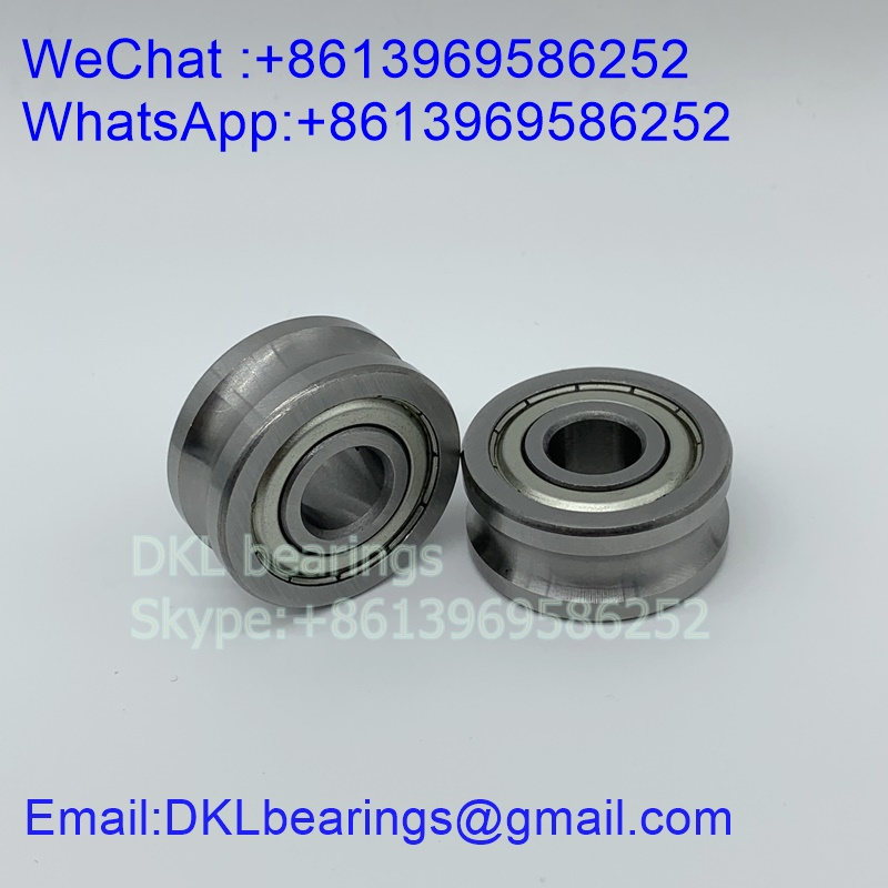 LFR50/8-6-2Z TrackRollerBearing (High quality) size 8x24x11 mm