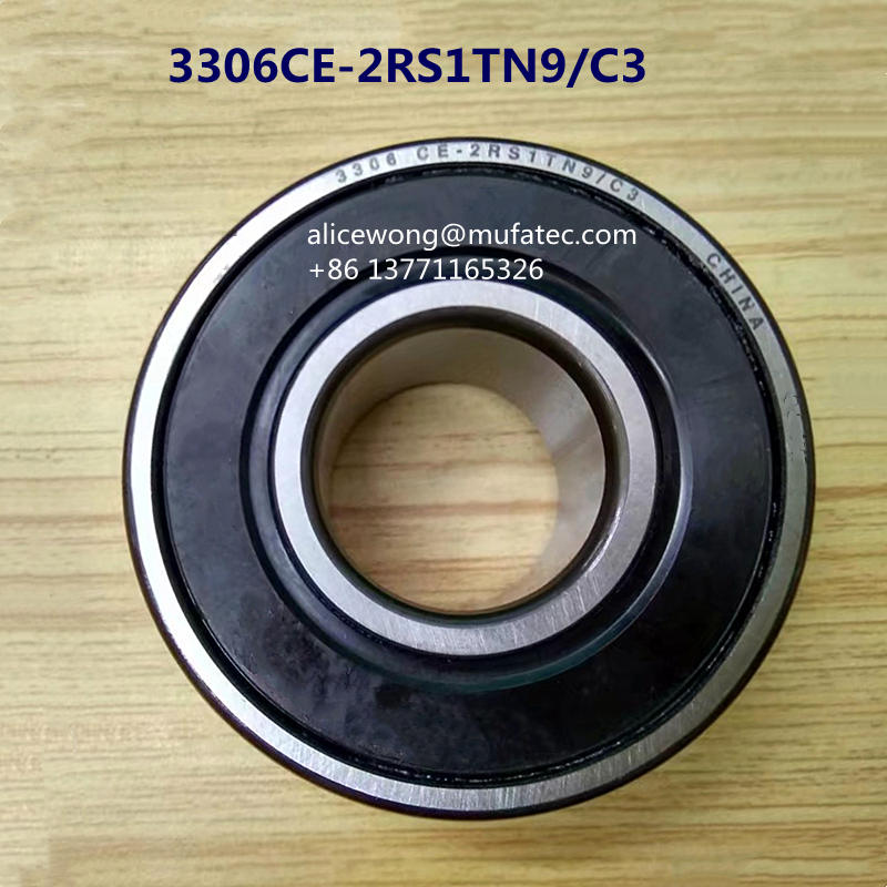 3306CE-2RS1TN9C3 Auto Bearings Deep Groove Ball 30x72x30.2 mm Hot Sales for Auto Repair Shops