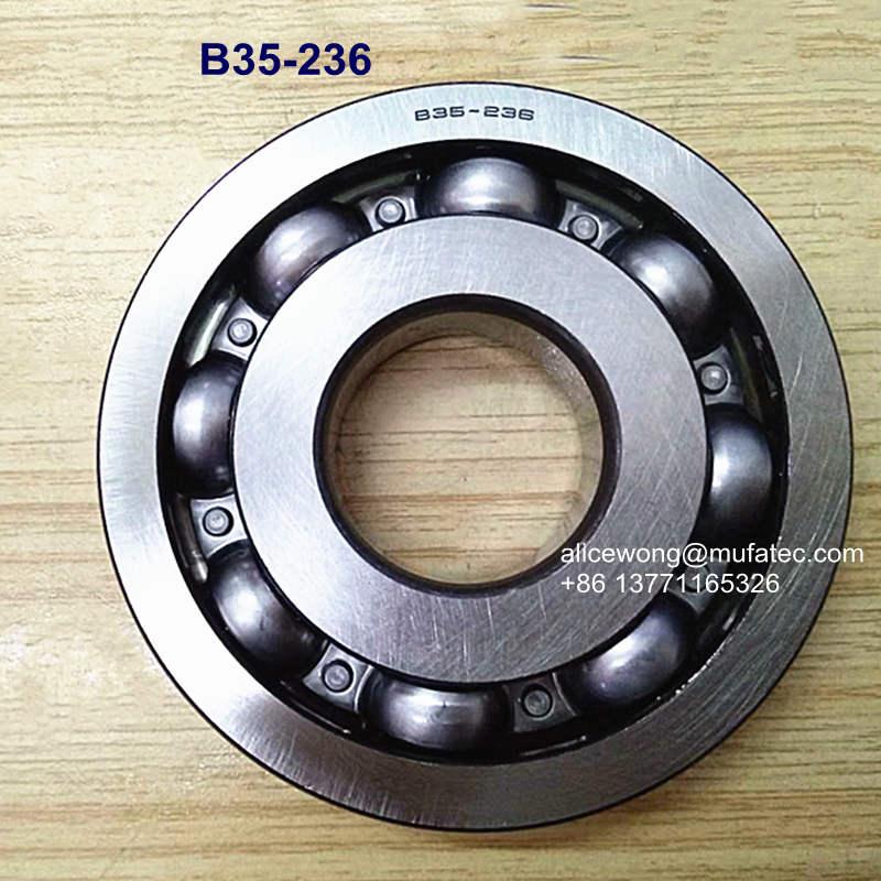 B35-236 Auto Gearbox Bearing for Auto Repair & Auto Maintenance 35x95x19.5mm