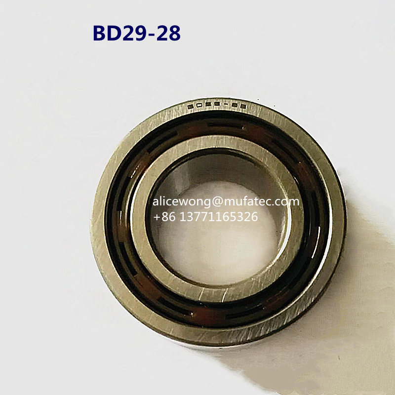 BD29-2B Automobile Bearings 29x55x22.5mm Nylon Cage Ball Bearings