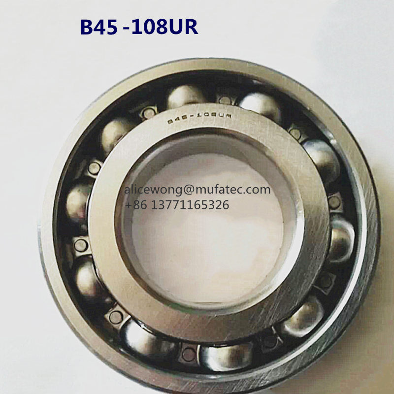 B45-108UR Automobile Gearbox Bearings 45x100x17mm Special Deep Groove Ball Bearing