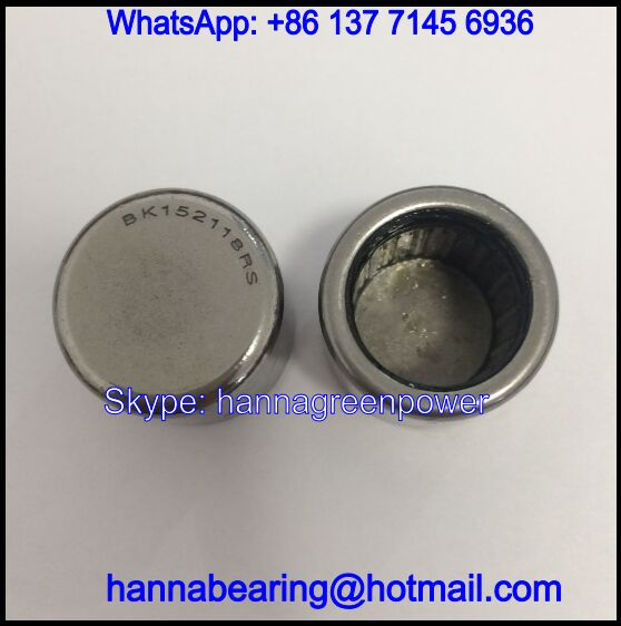 BK152118RS / BK152118-RS Closed End Neelde Roller Bearing 15*21*18mm
