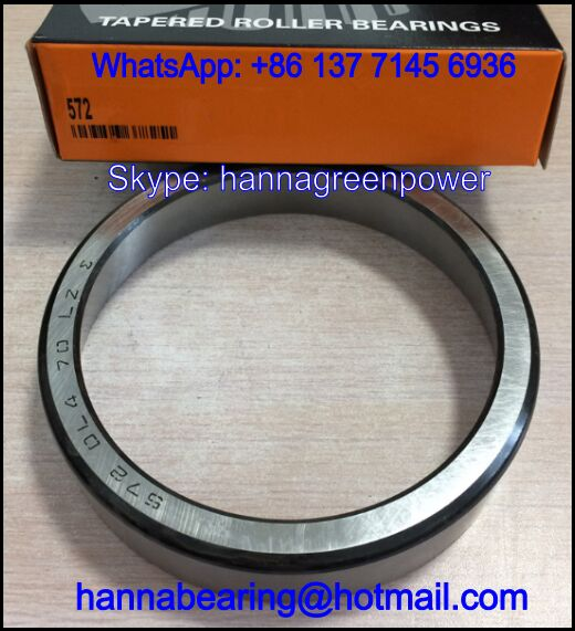572-20N06 Tapered Roller Bearing Cup