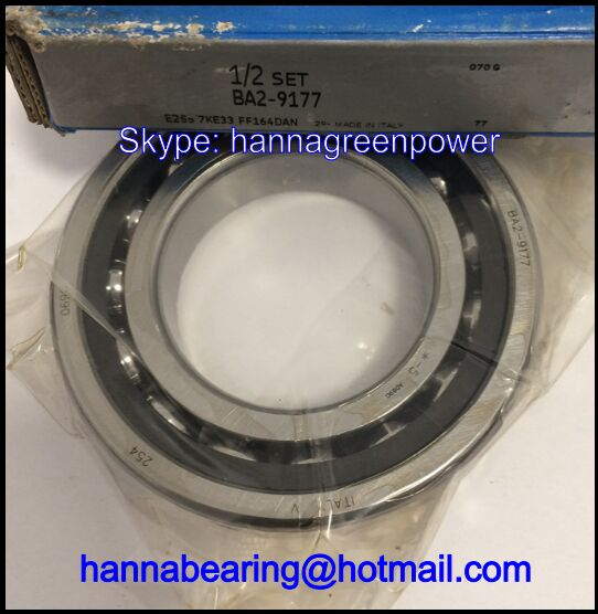 BA2-9177 Nylon Cage Angular Contact Ball Bearings 55x100x21mm