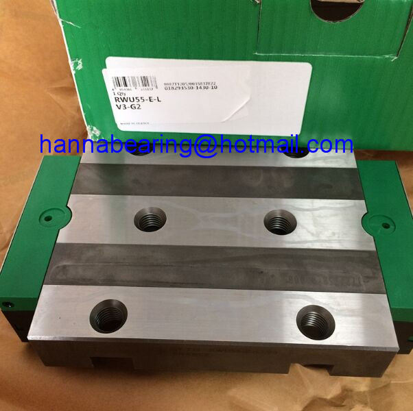 RWU55-E-L-V3-G2 / RWU55-E-L-V3 Linear Guide Carriage 70x140x210.7mm