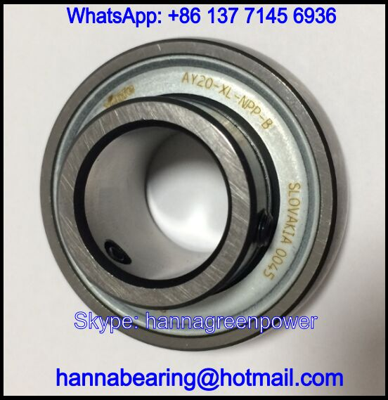 AY20-XL-NPP-B Radial Insert Ball Bearings 20x47x25mm