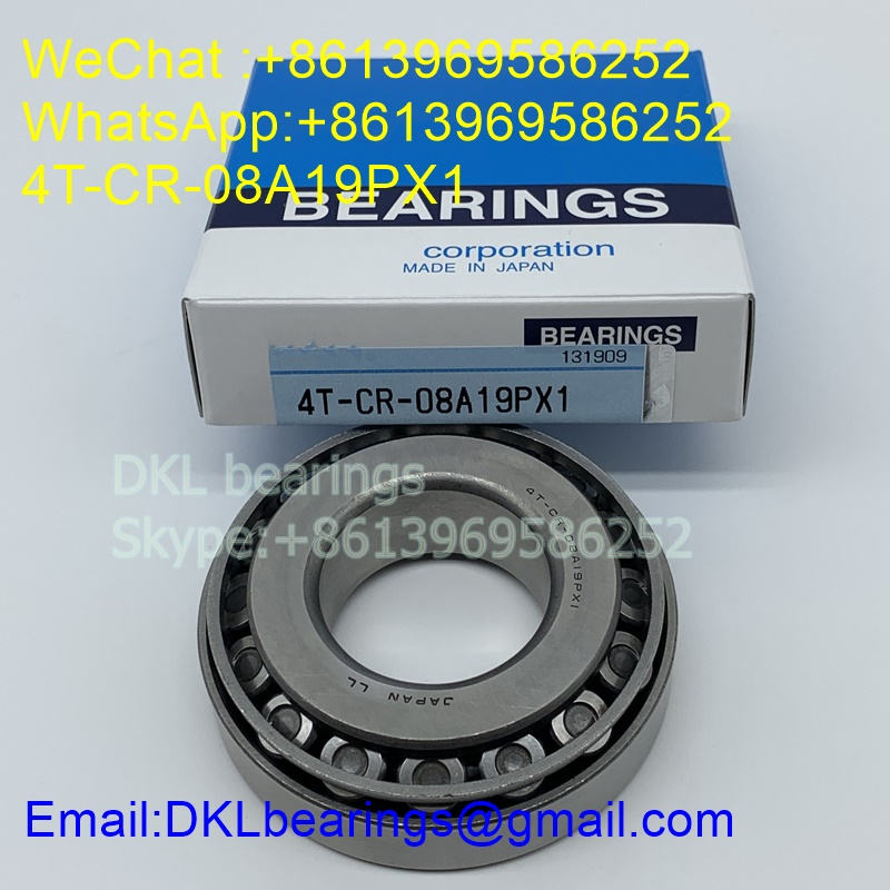 4T-CR-08A19PX1 Tapered Roller Bearing 38mmx80mmx24 mm