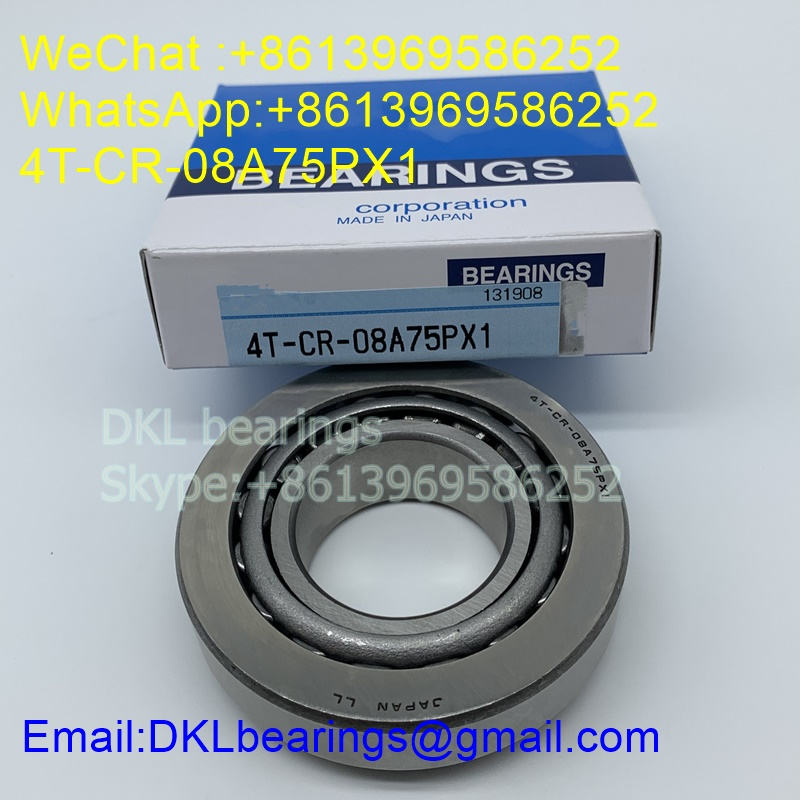 4T-CR-08A75PX1 Tapered Roller Bearing 38mmx80mmx24 mm