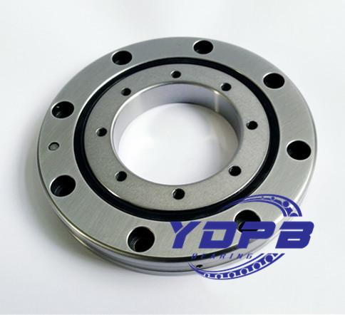 RU148XUUCC0P5 threaded holes crossed roller bearings for robots arm