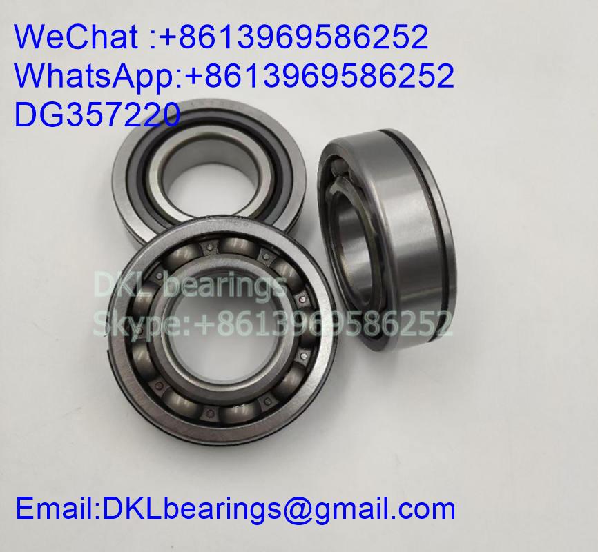 DG357220 Deep Groove Ball Bearing (High speed) size 35x72x20 mm