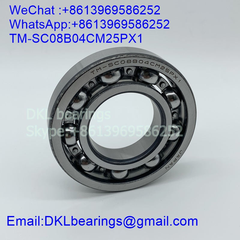 TM-SC 08B04 CM25PX1 Deep Groove Ball Bearing (High speed) size 40x81x17 mm