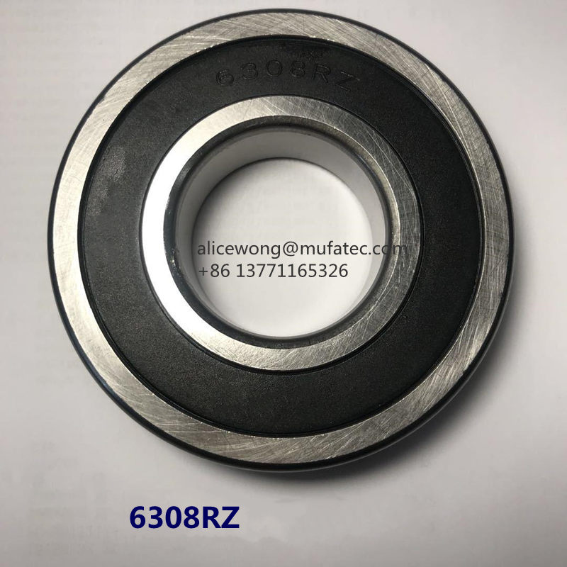 6308-2RZ High Speed Motor Bearing Ball Bearings 50x90x23mm