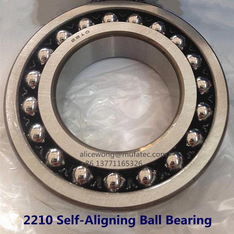 2210 CNC Machine Bearing Self-Aligning Ball Bearings 50x90x23mm