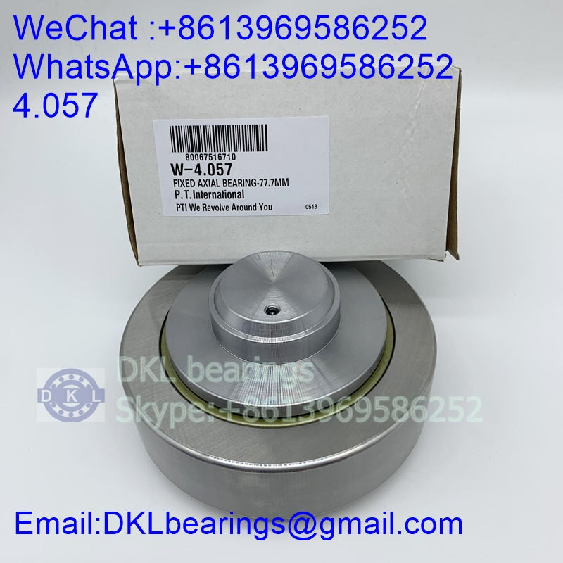 4.057 Combined roller bearing (High quality) size 40x77.7x40 mm
