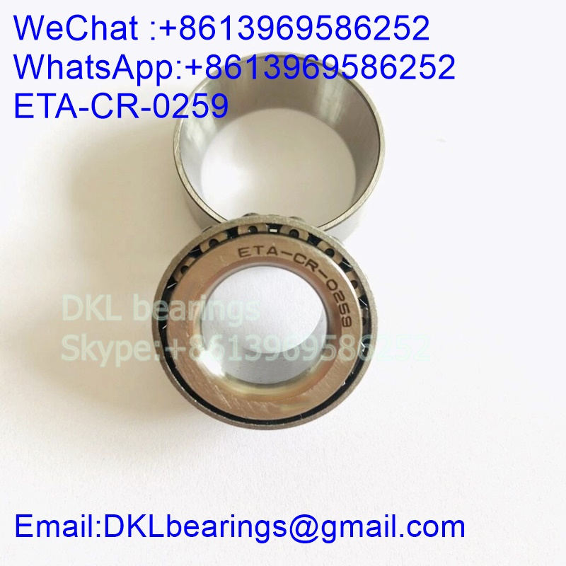 ETA-CR-0259 Tapered Roller Bearing 15mmx30mmx13 mm