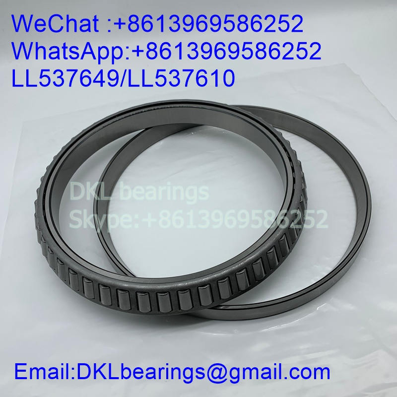 LL537649/LL537610 Tapered Roller Bearing size 184.15x236.538x26.192 mm
