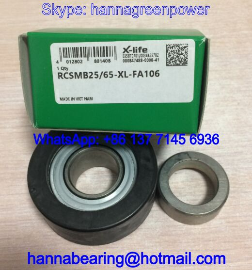RCSMB25/65-FA106 Insert Bearing with Rubber Cover 25x65.1x31mm