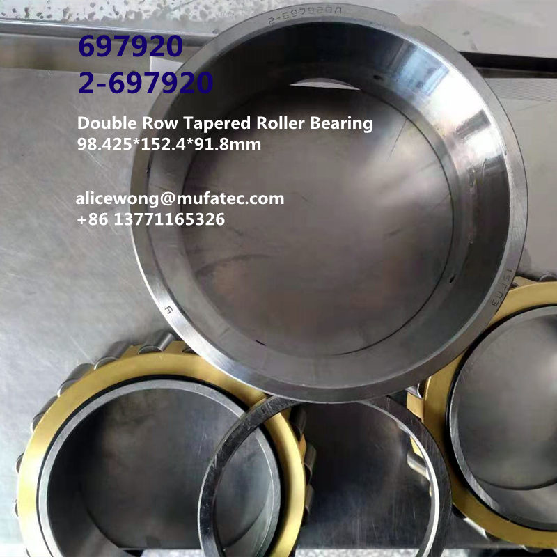 697920 2-697920 Double Row Taper Roller Bearing 98.425*152.4*92mm