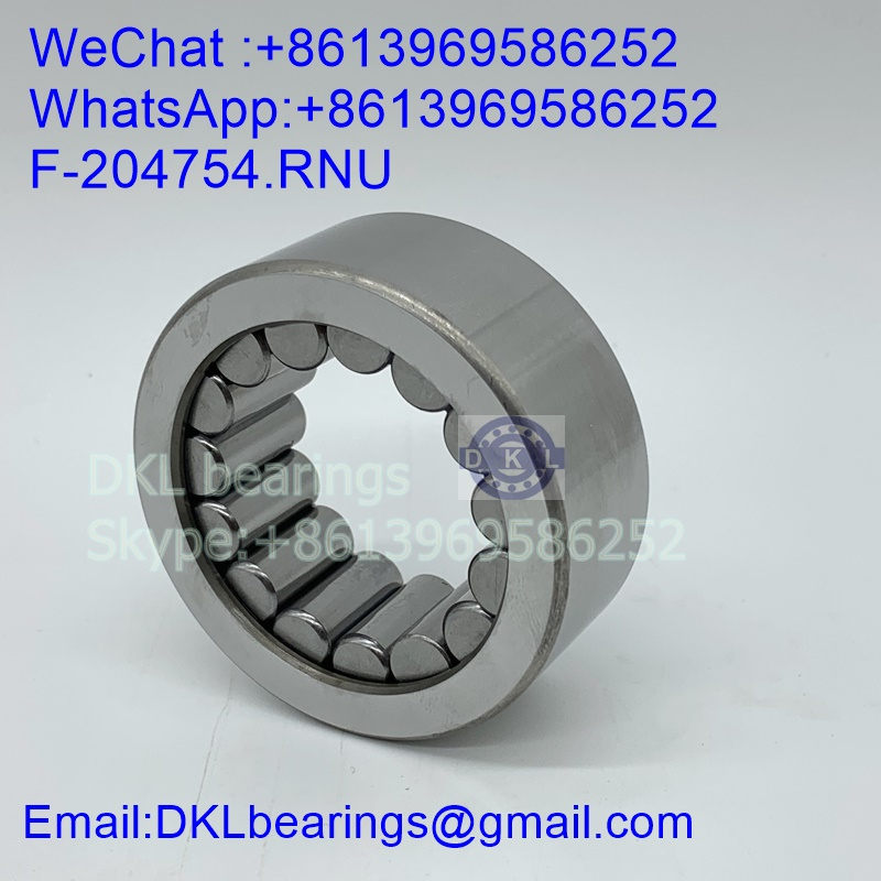F-204754.02.RNU Germany Cylindrical Roller Bearing (High quality) size 42.01*72*30 mm