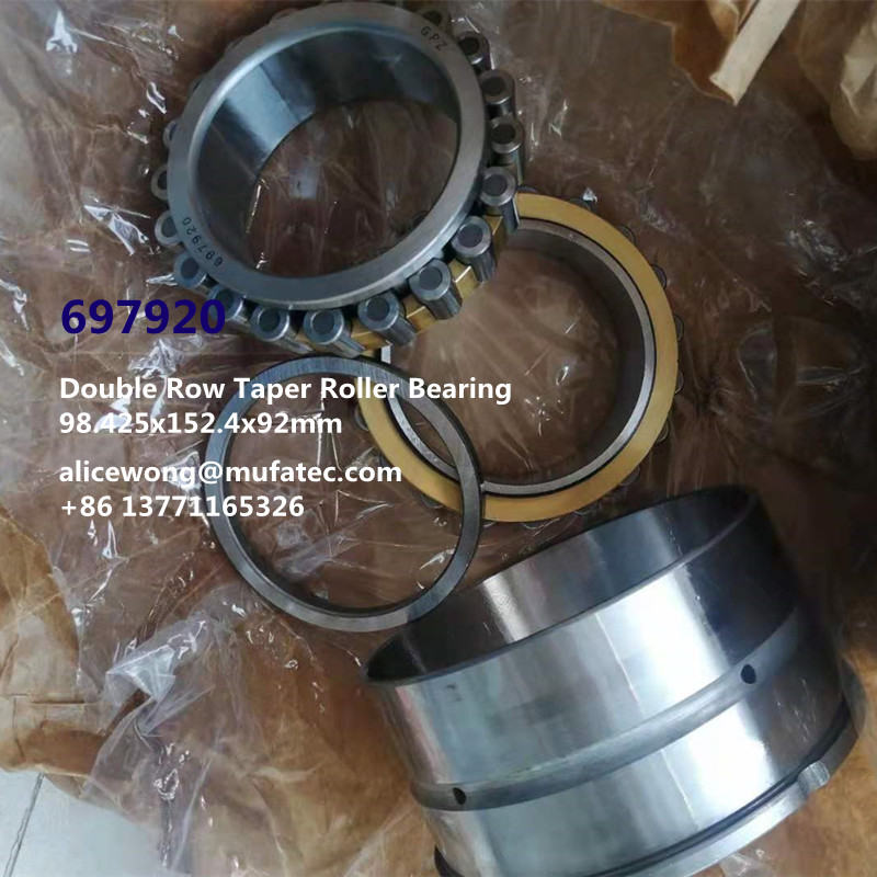 697920 2-697920 GPZ Double Row Taper Roller Bearing 98.425*152.4*92mm