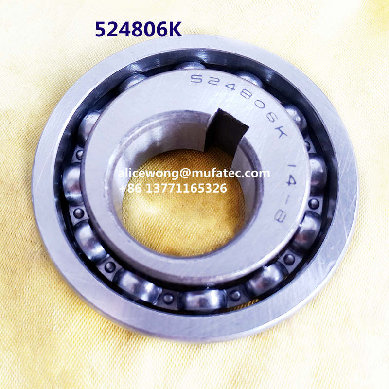 524806K Special Eccentric ball bearings for agricultural machinery lift bearings 30x70x16/18.5mm