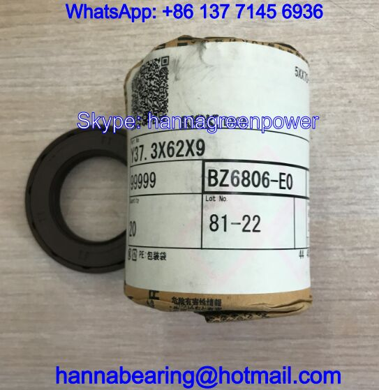 BZ6806E / BZ6806E0 Fluorine Rubber Oil Seal for ROBOT 37.3x62x9mm