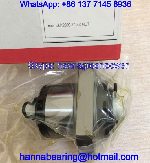 BLK2525-3.6ZZ / BLK2525-3.6 Rolled Ball Screw Nut 25x74x55mm