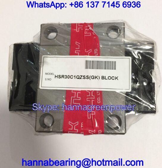 HSR25LCM1QZSS / HSR25LCM1QZUU Linear Guide Block with Lubricator 70x102.2x30.5mm