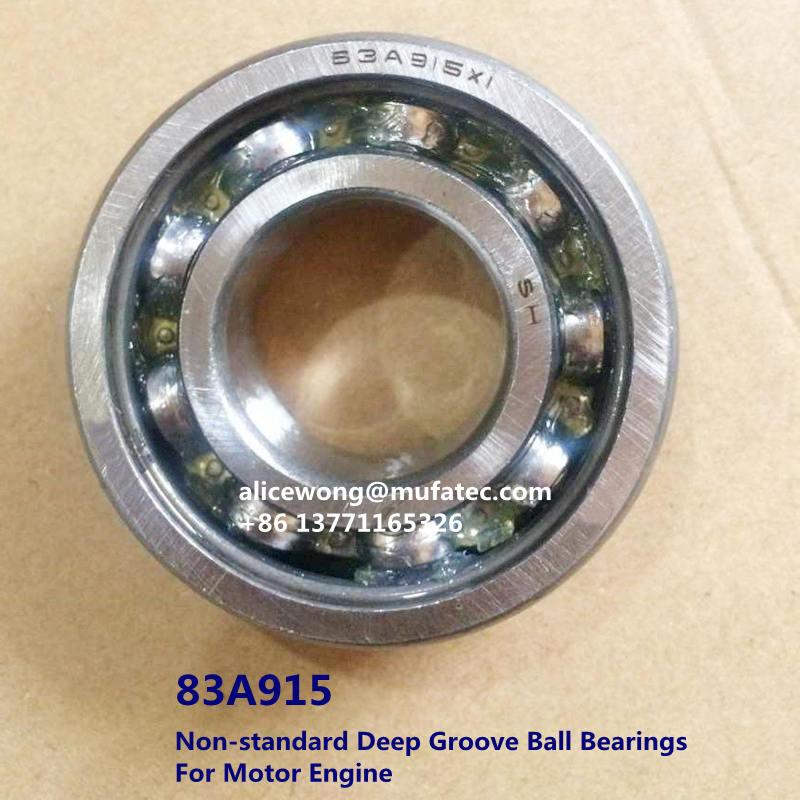 83A915 Non-standard deep groove ball bearing for motor engine 25x55x15mm