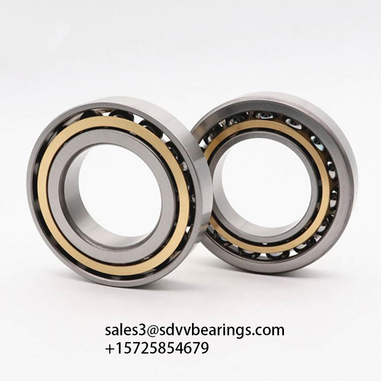 70BNR19H Precision Spindle Angular Contact Single Ball Bearings 70*100*16mm