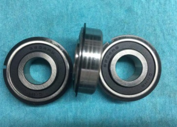 6204 2RS Deep Groove Ball Bearing 20x47x14mm Inner ring customization with snap ring