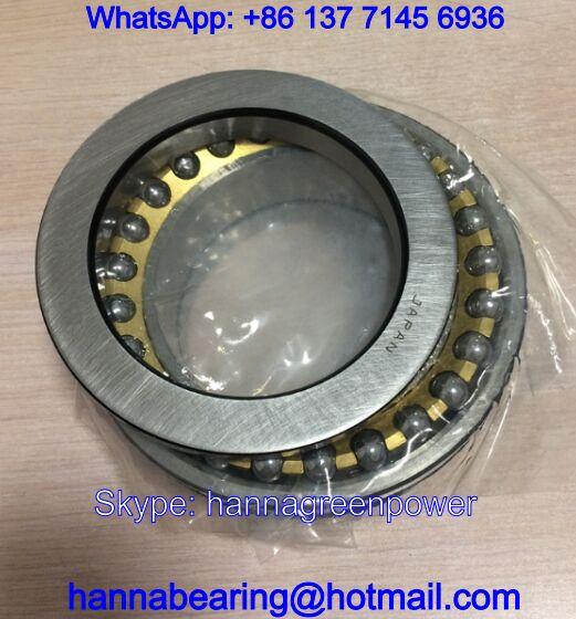 105TAD20 Main Spindle Bearings / Angular Contact Ball Bearing 105x160x66mm