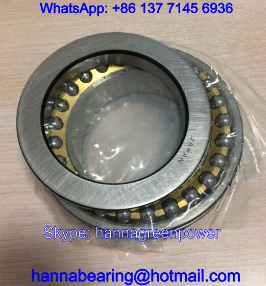 120TAD20 Main Spindle Bearings / Angular Contact Ball Bearing 120x180x72mm