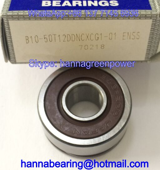 B10-50T12DDNCXCG1-01 Deep Groove Ball Bearing 10*27*11mm