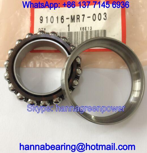 91016-MR7-003 Auto Steering Bearing / Angular Contact Ball Bearing 35*55*14.5mm