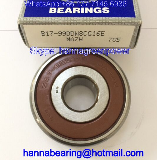 B17-99DW8 Auto Bearing / Deep Groove Ball Bearing 17*52*17mm